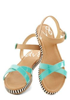 Poolside Cool Sandal, #ModCloth