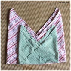 Fabric Crafts, Sewing Crafts, Sewing Projects, Sewing Online, Origami Bag, Textiles, Creation Couture, Craft Bags, Couture Sewing
