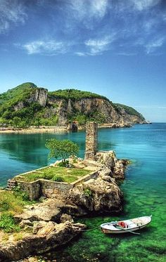 The Black Sea in Turkey.