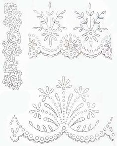 45 Ideas Sewing Art Painting Machine Embroidery For 2019 Cutwork Embroidery, Embroidery Transfers, Paper Embroidery, Machine Embroidery Patterns, White Embroidery, Hand Embroidery Designs, Vintage Embroidery, Embroidery Stitches, Embroidery Sampler