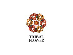 Tribal Flower Logo