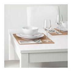 AVSKILD Place mat, cork - IKEA