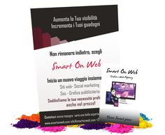 Flyer e bussiness card by Smart on Web