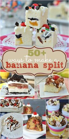 50 ways to banana split