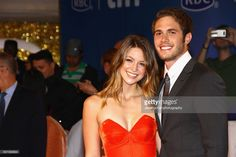Actors Melissa Benoist and Blake Jenner attend the 'The Edge of Seventeen' premiere held at Roy Thomson Hall during the Toronto International Film Festival on September 17, 2016 in Toronto, Canada.