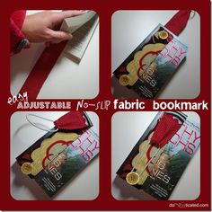 No slip bookmark