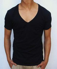 c582883fd5c Louis Tomlinson  This V-neck tee is perfect for Louis because it allows him