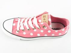 Pink polka-dotted Chucks?  Yes please!