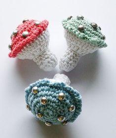 Crochet Earrings, Beanie, Jewelry, Fashion, Lily, Moda, Jewlery, Jewerly, Fashion Styles
