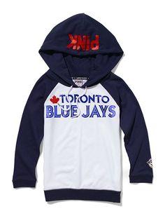 love the Toronto Blue Jays, love this hoodie! Baseball Mom, Baseball Stuff, Softball, Sports Team Apparel, Little Girl Closet, Go Blue, Color Blue, Victoria's Secret, Sports Mom