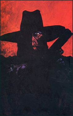 The Shadow by Mike Kaluta.