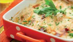 potato and kohlrabi gratin with cheese Twice Baked Potatoes Casserole, Cabbage Casserole, Veggie Casserole, Chicken Casserole, Casserole Recipes, Beef Gravy, Cabbage And Bacon, Potluck Dishes, Bechamel