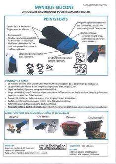 Fiche Tupperware : Manique silicone - Les Macarons à la Chartreuse