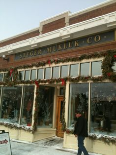 ☑ If you ever go to Ely, Minnesota. Treat yourself a pair of Mukluks! They are the warmest boots ever made.