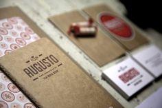 Augusto Brand by Penny Dombroski Brand Identity Design, Corporate Design, Branding Design, Identity Branding, Graphic Design Layouts, Graphic Design Inspiration, Magazine Design, Mises En Page Design Graphique, Letterhead Business