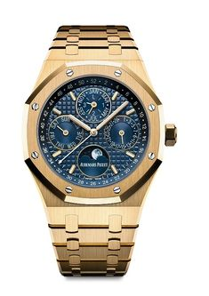 SIHH 2016 Preview: Audemars Piguet Royal Oak Perpetual Calendar in Yellow Gold | WatchTime - USA's No.1 Watch Magazine