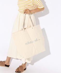 【ZOZOTOWN】niko and...(ニコアンド)のトートバッグ「オリジナルニコロゴトートBIG【niko and ...】」(762921)を購入できます。