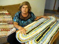 Learn how to make SISTER RUGS (Crochet Rag Rugs)