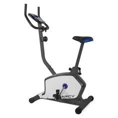 Marcy Upright Magnetic Exercise Bike, Silver #ExerciseBikes