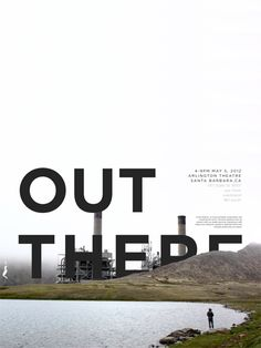 A film festival series with Images of Nature and industry blatantly juxtaposed together to symbolize how industry doesn't belong in nature.