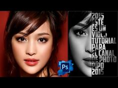 Tutotiales Photoshop CS6: Como Hacer Un Efecto De Cartel Texto - Retrato En Photoshop CS6 (PhotoPipo - YouTube