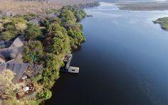 Chobe Safari Lodge in Kasane near Chobe National Park, Botswana. Chobe National Park, Parc National, National Parks, See Games, Wildlife Safari, Victoria Falls, Deserts, River, Night