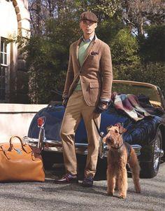 an Airedale Terrier! Airedale Terrier, Irish Terrier, Bedlington Whippet, Terriers, Wire Fox Terrier, Ralph Lauren Style, Cute Faces, Preppy Style, Mans Best Friend