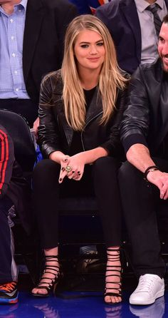 If There Was the Perfect Courtside-Chic Outfit, Kate Upton Just Wore It