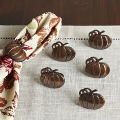 Furniture & Home Decor Search: pumpkin napkin rings