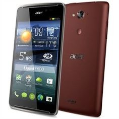 Acer Liquid E E600 4GB 4G Negro, Rojo Smartphone, Acer, Juices, Juice, Juicing