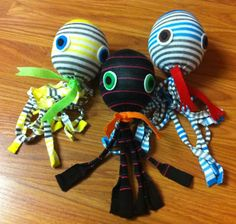 Crafts. Library events. Socktopus. Teens. Tweens. Upcycling.