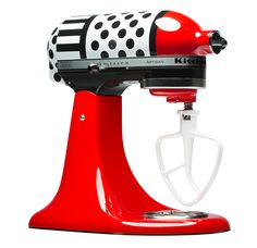 Kitchenaid Limited Edition Polka-dot Mixer -- You won't believe the price. But wow, pretty!