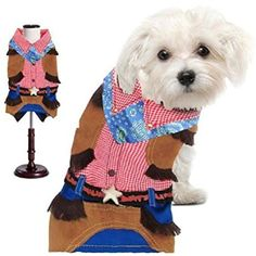 Cowboy Costumes Dress Your Dogs Like A Rodeo Cow Boy *** Read more reviews of the product by visiting the link on the image. (This is an affiliate link) #Dogs