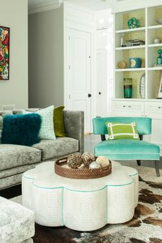 House of Turquoise: Karen B. Wolf Interiors. #laylagrayce #living