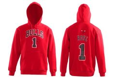 fitted blank new era hats , Chicago Bulls Ross Hoodies red  US$35.9 - www.tidehats.com