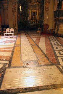 S i M p A t iC a M e N t E i N s I e M E: La meridiana della Cattedrale di Acireale