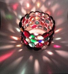 Candle Holder  Stained Glass Votive  by eastvillageartisans for $20.00