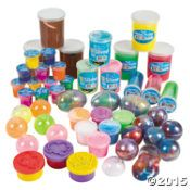 Putty & Slime Assortment $24/50 pieces