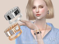 Sims 4 CC's - The Best: Watch by S-Club