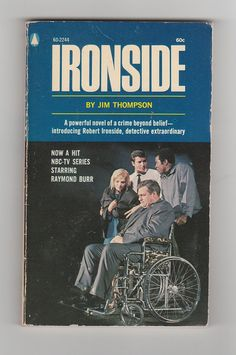 1960s tv series Ironside novel vintage, AnemoneReadsVintage, $6.95