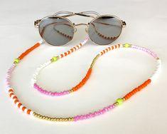 Diy Jewelry, Beaded Jewelry, Fashion Face Mask, Diy Necklace, Eyeglasses, Chain, Boho, Eyeglass Holder, Money