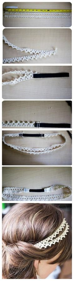 DIY hairpin -                                                                                                                                                     More
