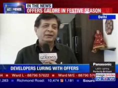 MAGICBRICKS NOW OCT09  An Exculsive Interview of Mr. Navin M Raheja on Festive Offers.