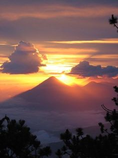Another sunset in Guatemala