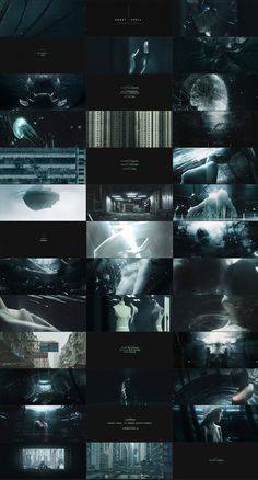 Ghost in the Shell Styleframes by Filipe Carvalho Art Of The Title, Ghost In The Machine, Color Script, Light Film, Title Sequence, Movie Titles, Ghost In The Shell, Aesthetic Images, Ash Thorp