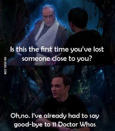 Sheldon - Doctor Who references in The big bang theory