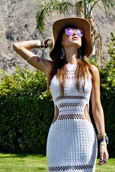 Thaila Ayala @ AusHaus > Coachella | @Victor De Mello