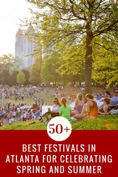 "The South known for fun, which is why one of the most popular events are festivals in Atlanta. We've got the perfect list of festival fun for your spring and summer, with dates, places and hints about their family-friendliness. Take note of those marked with ""365 Favorite!"" as it notates the 10 festivals we love the most!"