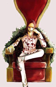 Seat of hearts - Donquixote Rocinante (Corazon) (Corasan, Cora-san) One Piece