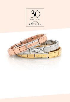 Composable Bella la vita   Nomination Italy #nominationitaly #composable #bellalavita #bracelet